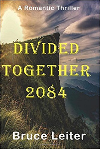 Mystery novel Divided Together 2084 front cover